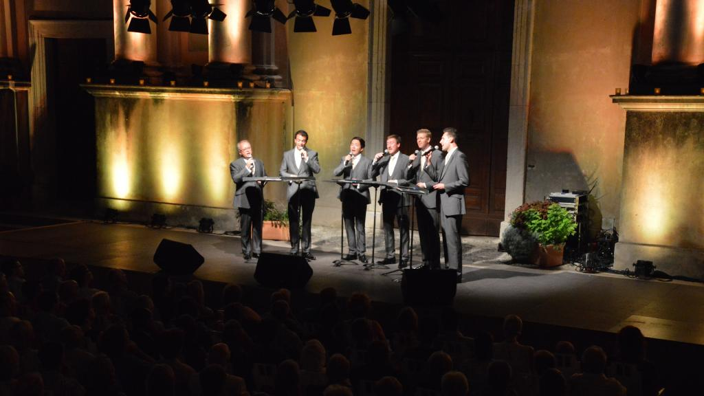 The King's Singers parvis 2016